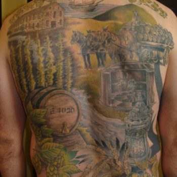 Backpiece Tattoo by George Brown